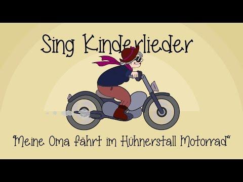 Meine Oma fährt im Hühnerstall Motorrad - Kinderlieder zum Mitsingen | Sing Kinderlieder