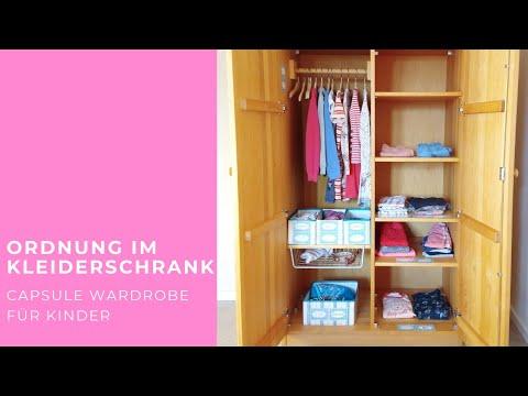 Ordnung im Kleiderschrank und Capsule Wardrobe für Kinder