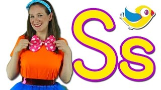 The Letter S Song - Learn the Alphabet