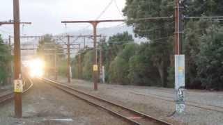 preview picture of video 'Tranz Metro Hutt Valley Line Commuter Train'