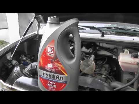 Уаз Патриот 6000 км пробега, замена масла в моторе. Гарантия, срок годности масла.