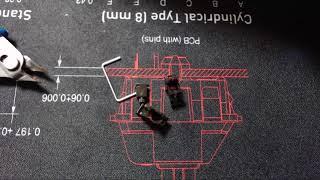 [REVIEW] 더키 3108 RGB 분해리뷰 및 스테빌윤활