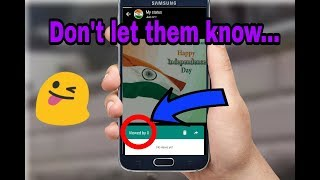 how to see a whatsapp status without them knowing