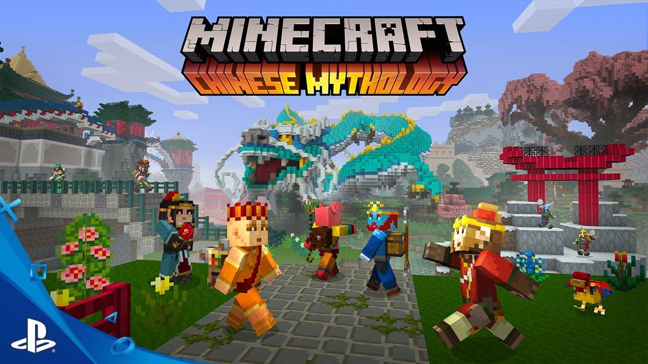 El Pack Mash-up Chinese Mythology de Minecraft se lanza el 5/10