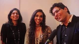 Actress Anupriya Goenka of Padmaavat and Tiger Zinda Hai was show stopper for Riyaz & Reshma Gangji of Libas