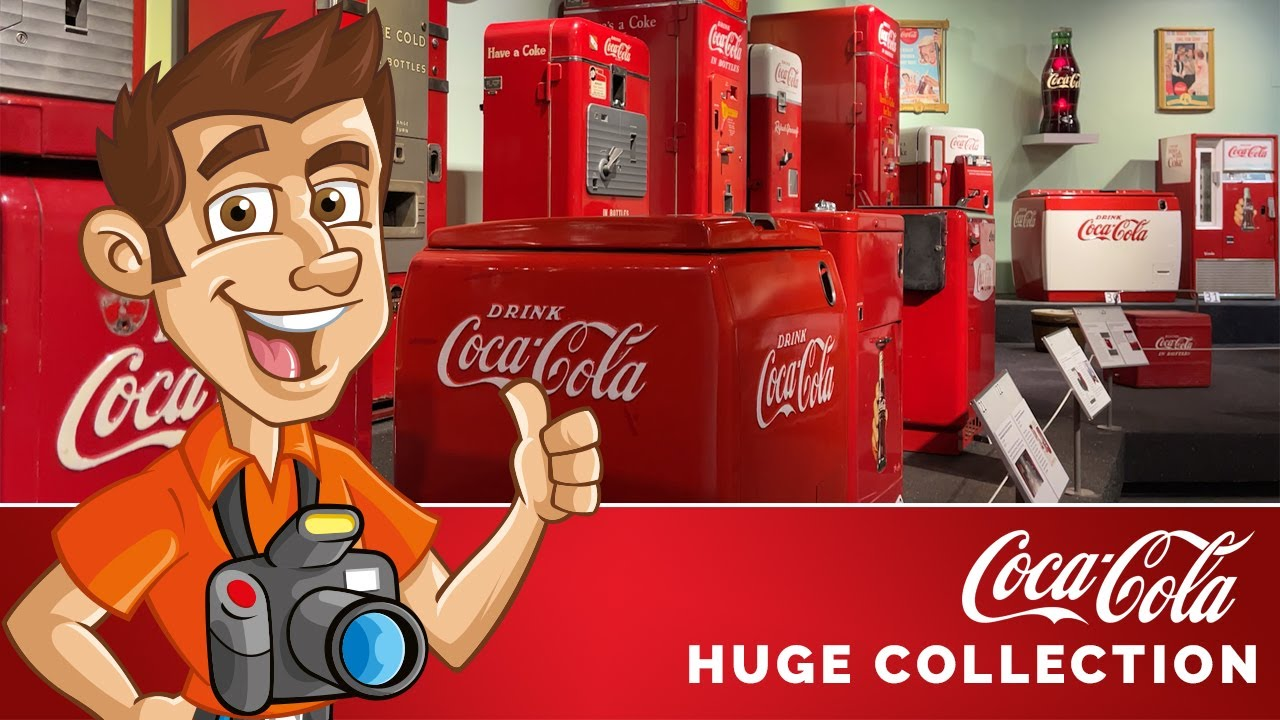 Coca Cola Collectibles at the Root Family Museum