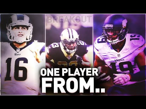 ONE BREAKOUT PLAYER FROM EVERY NFC TEAM IN THE NFL! MADDEN 18 ULTIMATE TEAM