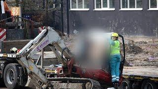 Kraanmachinist in Breukelen overleden na val van heipaal op cabine