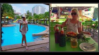 """Влог из Паттайи (отель """"Pattaya Park"""") в сезон дождей. Безлимитное кафе """"Ниндзя"""". Покупки."""