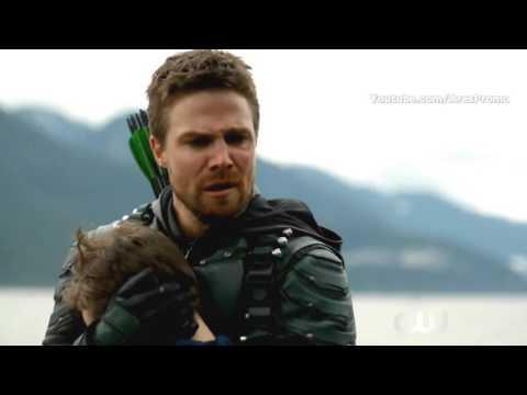 Arrow 5x23 Ending Scene Season 5 Episode 23 HD Season Finale #Lian Yu