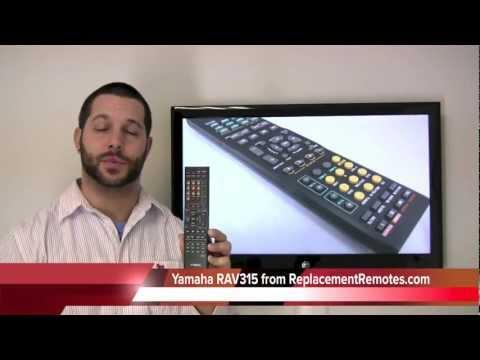 YAMAHA RAV315 Audio/Video Receiver Remote Control
