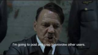 Hitler plans to troll forums