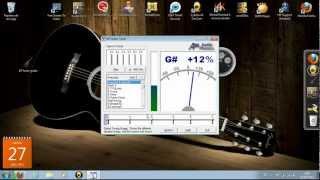 Como Descargar Excelente Afinador De Guitarra Para Pc + Instalacion Y Como Usarlo ..