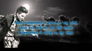 Adam Lambert - The Original High (lyrics)