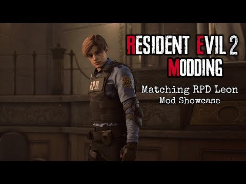 Resident Evil 2 Remake Modding: Claire-ish Claire Face Model Mod