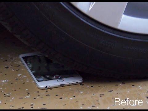 Super-Tests Smartphones 1 - BMW Auto rollte über Iphone 6 Plus