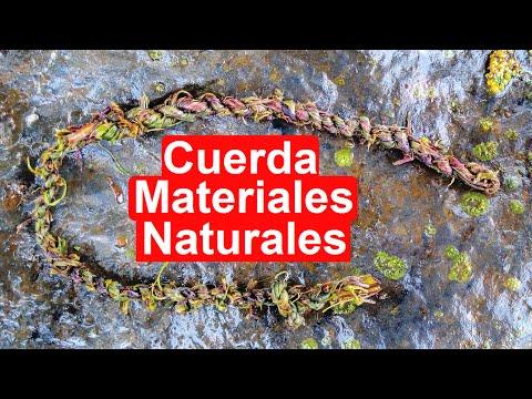 Cómo Hacer CUERDA RESISTENTE Solo Con Materiales Naturales
