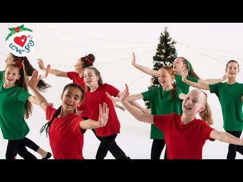 Best Christmas Dance Songs with Easy Choreography Moves | Christmas Dance Crew