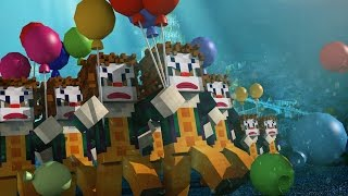 Minecraft | Atlantis Endeavors - CLOWN ARMY SCARES INNOCENT PEOPLE! (Minecraft Roleplay)