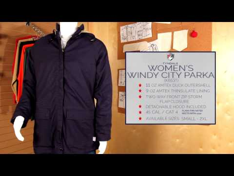 Windy City Parka Product Video K653T