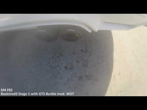 ProTUNING Freaks BootMod3 Stage 1 GTS Burble WOT CLIP - BMW