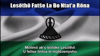 Lesōthō Fatše La Bo Ntat'a Rōna (National Anthem in Nightcore Style With Lyrics)