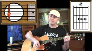 The Apartment Song - Tom Petty - Acoustic Guitar Lesson (easy)
