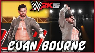 WWE 2K16 Evan Bourne ROH Attire CAW Formula + Entrance & Finisher