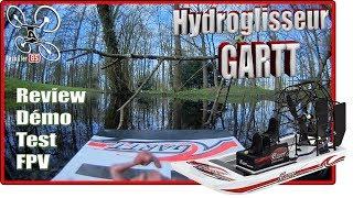 GARTT Hydroglisseur - Review Test Démo FPV - test en 2S et 3S !