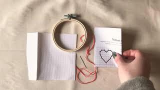 Basic Blackwork Stitching 101 - Hand Embroidery Tutorial