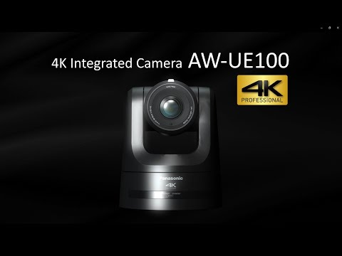 Panasonic 4K60p PTZ Camera AW-UE100 supporting NDI and SRT