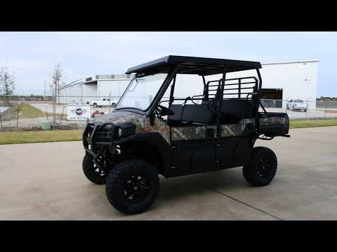 2018 Kawasaki Mule PRO-FXT EPS Camo in La Marque, Texas - Video 1