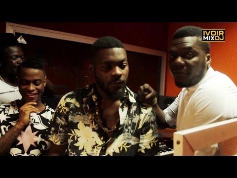 Ivoirmixdj – Dj Arafat ft DJ Mix , séance studio chez Champi kilo