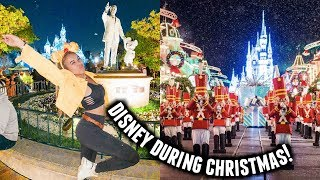 COME TO DISNEYLAND WITH ME! *disney during the holidays* | Vlogmas Day 9