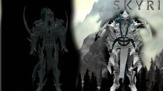 Обзор мода на Skyrim 1# чёрное и белое(Тёмный рыцарь/Паладин) Dark knight and Paladin