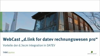 INTEGRATION VON D.3ECM IN DATEV