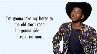 Lil Nas X   Old Town Road (Lyrics) Ft. Billy Ray Cyrus