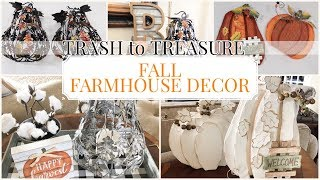 FALL DECOR 2019 | TRASH to TREASURE  | FARMHOUSE FALL DECOR