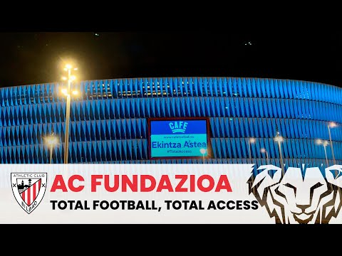 📽️ CAFE I Centre for Access to Football in Europe | AC Fundazioa