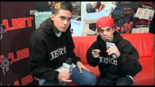 Len and John From Justice Crew Hitlist TV Intro