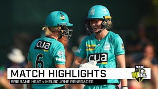 Clinical Heat stay on track for back-to-back   Rebel WBBL 05