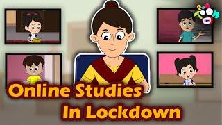 Online Studies In Lockdown   English Moral Stories   English Animated Kids Stories   English Cartoon