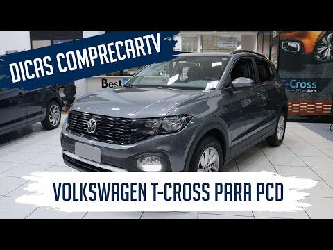 Volkswagen T-Cross para PCD - Sense 200 TSI Automático