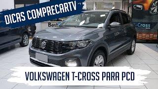 Volkswagen T-Cross para PCD - Sense 200 TSI Automá