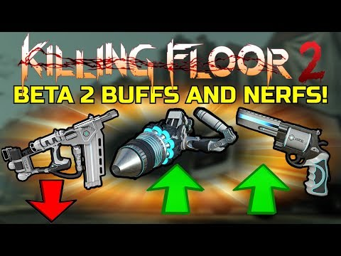 Killing Floor 2 | HALLOWEEN BETA 2 BUFFS AND NERFS! - Abomination Nerfed, Again...