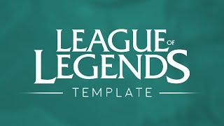 League of Legends Logo Template [4k] [2016]