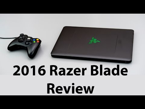 2016 Razer Blade Review