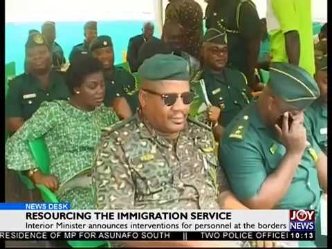 Resourcing the Immigration Service - News Desk on Joy News (2-4-18)