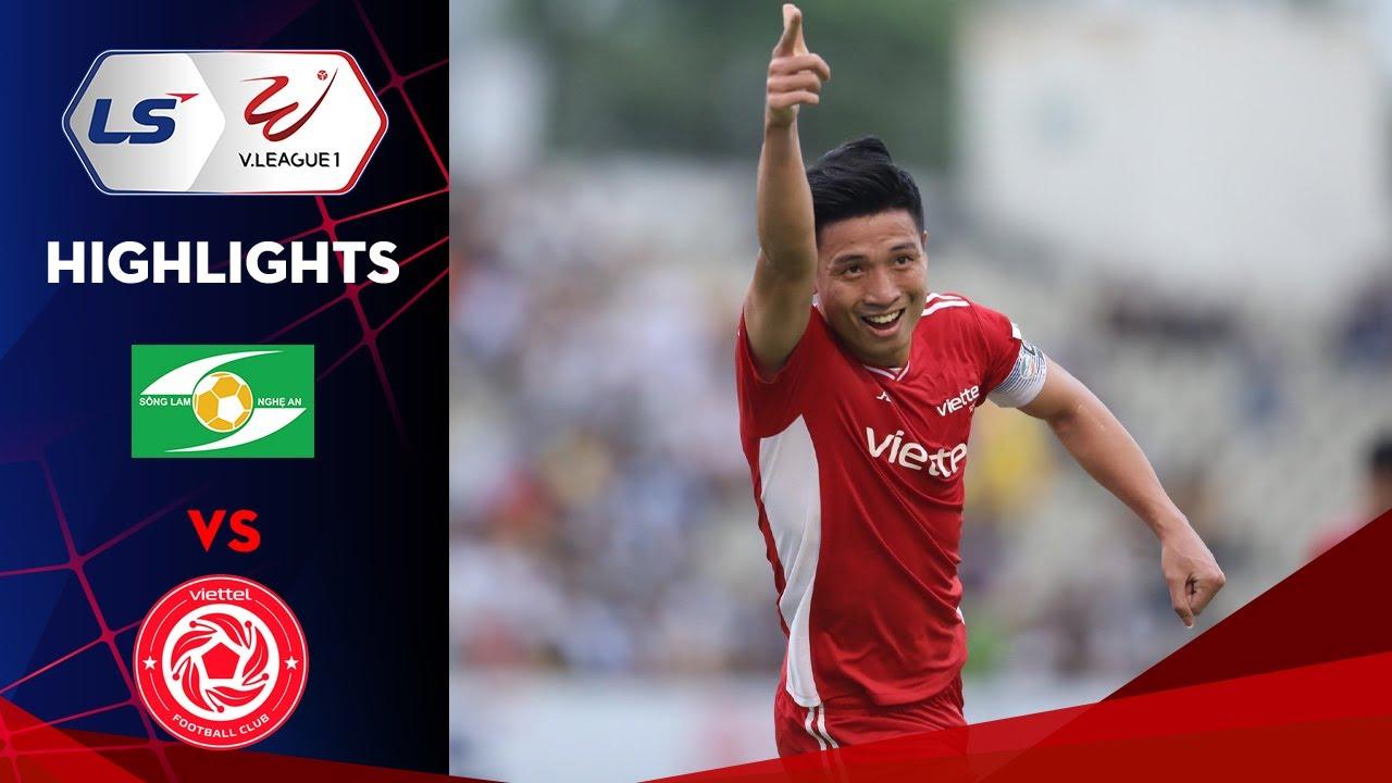 Highlights | SLNA - Viettel | Bùi Tiến Dũng lập công giúp Viettel giành trọn 3 điểm