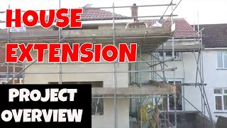 BUILDING HOUSE EXTENSION/ Three Bedroom Semi-detached House Project Overview